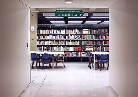 International Students Reading Area
