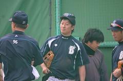 DSC_0021 (mechiko) Tags: 120205 横浜ベイスターズ 渡辺直人 藤田一也 横浜denaベイスターズ 2012春季キャンプ
