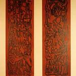 "<b>Untitled</b><br/> M. L. Rose ""Untitled"" Woodcut, n.d. LFAC #649<a href=""http://farm8.static.flickr.com/7175/6852264373_e4f72560ca_o.jpg"" title=""High res"">∝</a>"