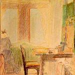 """<b>Rudolstadt Kar Freitag 1919 (H. Fr.)</b><br/> Marguerite Wildenhain """"Rudolstadt Kar Freitag 1919 (H. Fr.)"""" Crayon and Pencil, 1919 LFAC # 777<a href=""""http://farm8.static.flickr.com/7175/6852375015_3ec4039faf_o.jpg"""" title=""""High res"""">∝</a>"""