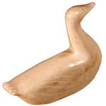 """<b>Canada Goose</b><br/> Madeleine Kringayark (1928-1984) """"Canada Goose"""" Ivory (bone), ca. 1969-1970 LFAC #1994:01:18<a href=""""http://farm8.static.flickr.com/7175/6852408441_36e9ffae05_o.jpg"""" title=""""High res"""">∝</a>"""