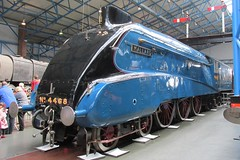 The Mallard. (Steven Ruffles) Tags: york locomotive mallard