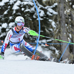 Thomas DORNER of Austria takes 1st Place in the U16 Boys Slalom Race held on Whistler Mountain on April 5th, 2014. Photo by Scott Brammer - coastphoto.com