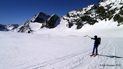 Day 5: A view back to the Col du Mont Brul. (Erik.G.) Tags: zermatt chamonix skitouring skitour hauteroute valsorey plateauducouloir