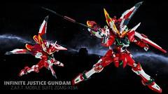 infinite justice wallpaper (Model Kit Builder) Tags: wallpaper justice mg gundam infinite