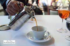 French pressed coffee (thewanderingeater) Tags: atlanta dinner georgia buckhead finedining restauranteugene