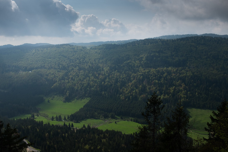 Jura Mountains.