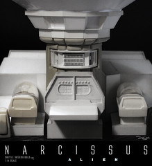 NARCISSUS27 (sith_fire30) Tags: sculpture building art scott miniature big model allen action alien aves ripley shuttle figure beast custom dayton diorama giger narcissus chap hrgiger prometheus sculpt styrene ridley xenomorph nostromo fixit sithfire30 covneant