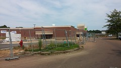 ...and bent out of shape (Retail Retell) Tags: kroger marketplace v478 hernando ms desoto county retail construction expansion project