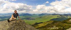 On top of Wright mtn (leewdegraff) Tags: mountain peak hike summit wright adirondack adk