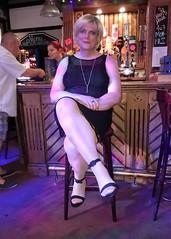 Night Out to Blue Anchor in Portsmouth (joanne.lockwood1965) Tags: uk sun me smile earings sunglasses scarf pose happy tv seaside dress transformation boots cd stripes makeup tights skirt hampshire crossdressing tgirl transgender indoors blond lgbt wig tranny blonde transvestite portsmouth trans bas transgendered pantyhose crossdresser crossdress ts gurl nylons shemale selfie gosport feminization mtf travesti passable m2f feminisation convincing collant enfemme xdresser xdress tgurl transgirl tilf transwoman tcute transcute