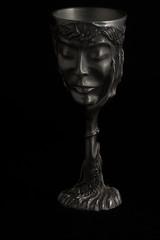 Galadriel Goblet (Chess Piece) (sr667) Tags: canon lordoftherings pewter chesspiece galadriel goblet ef100mmf28macrousm galadrielgoblet pewterminiaturegoblet