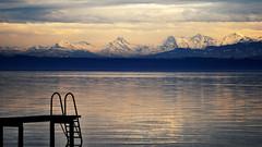 Paysage de chez moi (Fabrice1965) Tags: montagne alpes nikon suisse lac eiger ponton jungfrau d90 lacdeneuchtel mnch
