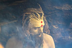Himalayan Sadhu ! (iskconmonk) Tags: india sadhu naga badrinath uttarakhand