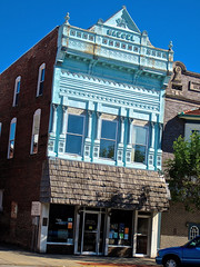 Naegel Building, Greensburg, IN (Robby Virus) Tags: building architecture indiana historic company printing greensburg inc italianate naegel