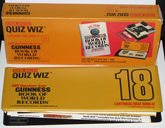 Coleco Quiz Wiz Triva Book #18 (1980) (WishItWas1984) Tags: world game records vintage toy book retro guinness collection 80s collectible 18 1980 1980s trivia cartridge coleco guinnessbookofworldrecords quizwiz