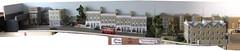 Tram layout overview (kingsway john) Tags: houses london scale buildings layout model pub head transport models kings card tramway kingsway qv terraced 176 oogauge terb
