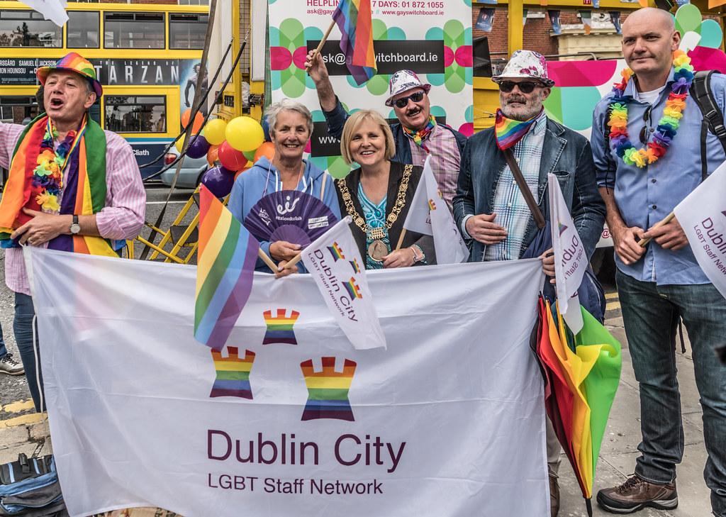 PRIDE PARADE AND FESTIVAL [DUBLIN 2016]-118030