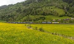 1421_2016_05_24_sterreich_Dorfgastein_MRCE_dispolok_ES_64_F4_-_026_DISPO_6189_925_mit_INTERCOMBI_KV_&_Rpool_6185_686_Villach (ruhrpott.sprinter) Tags: railroad schnee salzburg train germany logo deutschland graffiti austria ic sterreich diesel natur wiese eisenbahn rail zug cargo 64 berge nrw passenger es lm blume fret ore gelsenkirchen ruhrgebiet f4 freight bb badgastein locomotives 189 lokomotive amtc cityshuttle sprinter badhofgastein ruhrpott gter 1144 dorfgastein ekol 1116 dispo europischer 6189 mrce tauernbahn lokomotion reisezug rpool dispolok nordrampe ellok cargoserv logserv intercombi lokfhrerschein gastainertal rocktainer