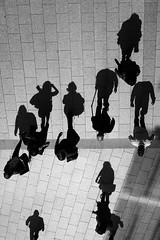 (AmirsCamera) Tags: london england shard light shadow silhouette blackandwhite figures people streetphotography contrast fujifilm fuji x100s 2016