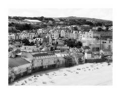 St. Ives buildings (Carolyn Saxby) Tags: houses beach buildings cornwall studios stives porthmeor carolynsaxby