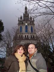 Hace un año (andresbasurto) Tags: viaje ana ciudad bilbao lui bizkaia febrero euskadi basílica begoña amigs 2011 basílicadebegoña andresbasurto
