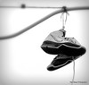 Hanging shoes (rsteup) Tags: shoes indiana panasoniczs3