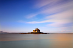 Island Dreams (David Shield Photography) Tags: california longexposure sunset sky color water rock clouds landscape island nikon bayarea sanpedrobay chinacampstatepark ratisland
