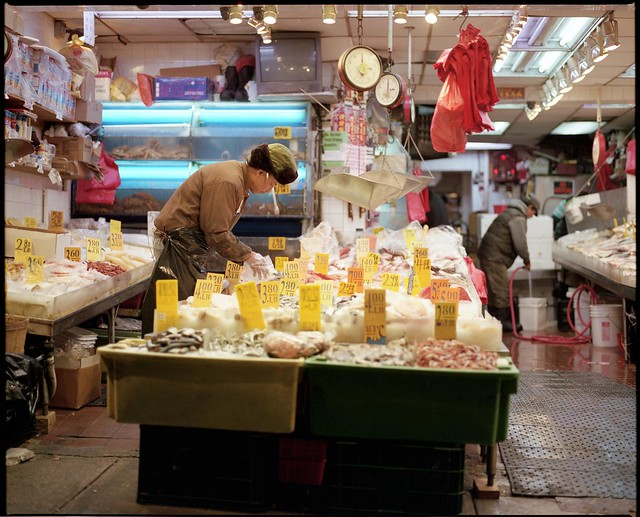 China Town fish market
