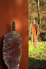 Hide And Seek (Dave 'FBI' Gibbons) Tags: sculpture art devon broomhill northdevon