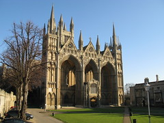 The West Front, Peterborough Cathedral, Peterborough, England (Hunky Punk) Tags: uk england architecture gothic churches cathedrals medieval norman peterborough peterboroughcathedral westfront earlyenglish earlyenglishgothic