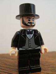 Abraham Lincoln (Brickdon) Tags: america lego president abraham lincoln custom
