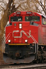 Brutish (Wide Cab) Tags: cn train freight canadiannational manifest neenahwi a447 neenahsub