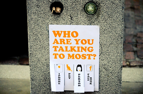 Who Are You Talking to Most?