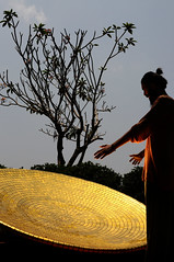 (Zhenya bakanovaAlex Grabchilev) Tags: portrait people india man alex gold golden disc