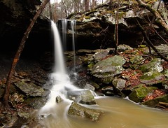Falls at Lee Creek Reservior (Dave's Photo Odyssey) Tags: creek waterfall lee vanburen arkansas reservior wateralls canon60d leecreekreservior