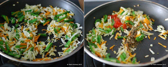 How to make hakka noodles step3