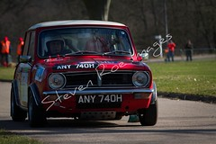 Austin Mini Clubman (Steven Roe Images) Tags: classic cars race speed rally racing retro 7d coventry 2012 canon7d wwwstevenroeimagescouk raceretro2012 austinminiclubmancanon canon70200isusbii