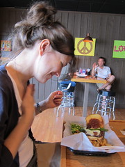 Peace Love Burger - mostly love.
