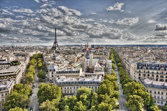 The city (Mr Yankee) Tags: paris france champselysees capital eiffeltower hdr thecityoflight frenchparis lavillelumire