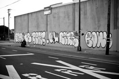 (Say Cheese & Die) Tags: street white black graffiti oakland bay san francisco east area pear pour chubs nsf begr soduh