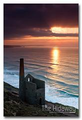 Towanroath Sunset - Explore #395  13/02/12 (Simon Bone Photography) Tags: building tin coast mine cornwall cliffs mining coastal coastline stagnes enginehouse towanroath whealcoates cornishtinmine cornishsunsets canoneos7d canonef24105mmlf4