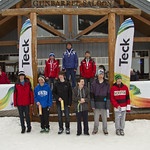 Sunday SL Podium pictures from the 2012 Teck K2/U16 Provincials in Apex                        PHOTO CREDIT: Keven Dubinsky