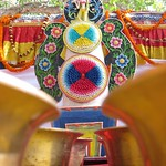 "Devotional Statue with Water Bowls, Mahabodhi Temple <a style=""margin-left:10px; font-size:0.8em;"" href=""http://www.flickr.com/photos/14315427@N00/6874918277/"" target=""_blank"">@flickr</a>"