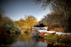 Winter Sun (Dave Hilditch Photography) Tags: winter snow landscapes essex tistheseason riverstort naturesfinest coth theworldwelivein stort artdigital absolutelystunningscapes paololivornosfriends dragondaggerphot
