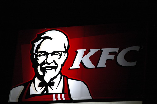 The Colonel from KFC.