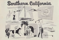 Southern California (The Cardboard America Archives) Tags: california color vintage southern guide 1956 brochure pamphlet
