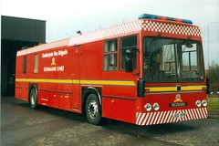 L100 SFB (markkirk85) Tags: bus buses fire carriage leicester engine builders command appliance strathclyde scania brigade unit sfb l100 k93 l100sfb