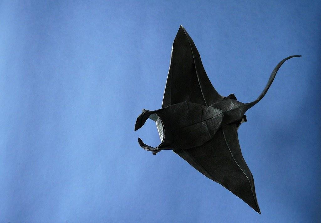 manta ray (textori) tags: origami ray manta yoshino issei textori