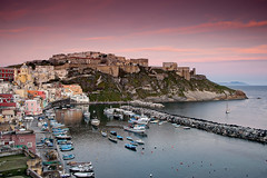 Procida sunset (Photos On The Road) Tags: italien sunset sea sky italy seascape horizontal port landscape boats outside outdoors evening coast harbor landscapes boat town twilight europa europe mediterranean mediterraneo italia tramonto mare skies campania village view harbour outdoor dusk sunsets nobody nopeople villages barche southern napoli coastline towns seashore ports procida harbors watercraft italie paesaggio seacoast seas nightfall coasts harbours coastlines southerneurope luoghi outdoorshots villaggio meridionale seashores colorimage outsides orizzontale horizontalformat highangleview colourimage outdoorshot highangleviews